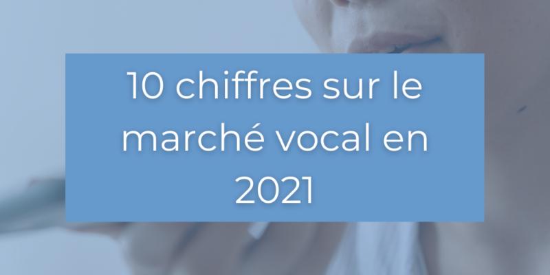 10 Chiffres sur le marché vocal